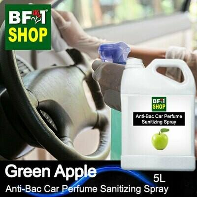Anti-Bac Car Perfume Sanitizing Spray (ABCP) - Apple - Green Apple - 5L