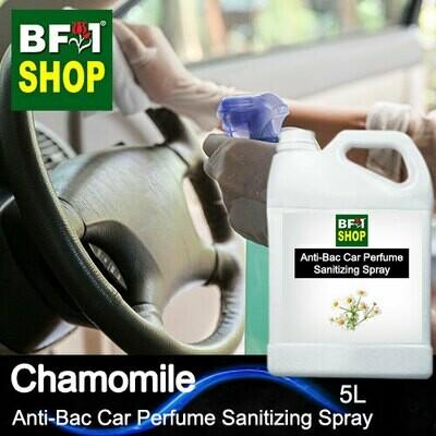 Anti-Bac Car Perfume Sanitizing Spray (ABCP) - Chamomile - 5L