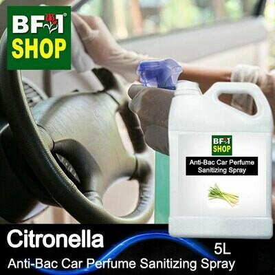 Anti-Bac Car Perfume Sanitizing Spray (ABCP) - Citronella - 5L