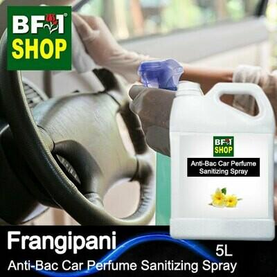 Anti-Bac Car Perfume Sanitizing Spray (ABCP) - Frangipani - 5L