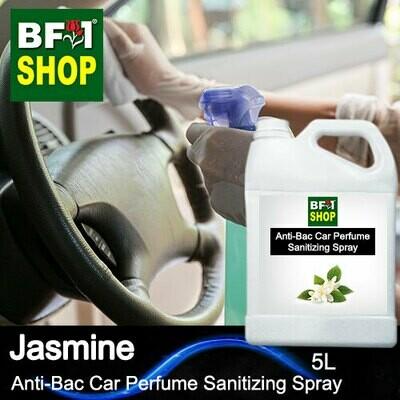 Anti-Bac Car Perfume Sanitizing Spray (ABCP) - Jasmine - 5L