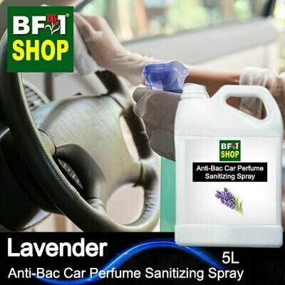 Anti-Bac Car Perfume Sanitizing Spray (ABCP) - Lavender - 5L