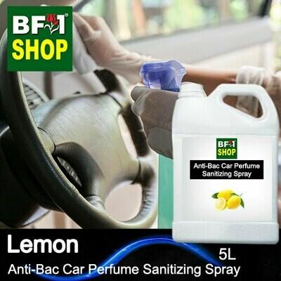 Anti-Bac Car Perfume Sanitizing Spray (ABCP) - Lemon - 5L