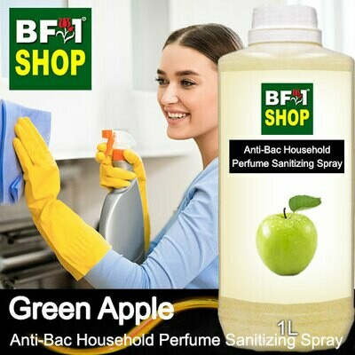 Anti-Bac Household Perfume Sanitizing Spray (ABHP) - Apple - Green Apple - 1L