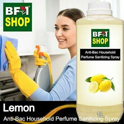 Anti-Bac Household Perfume Sanitizing Spray (ABHP) - Lemon - 1L