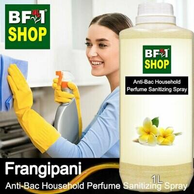 Anti-Bac Household Perfume Sanitizing Spray (ABHP) - Frangipani - 1L
