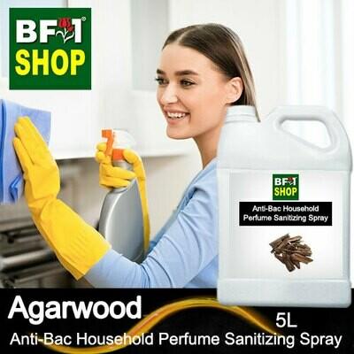 Anti-Bac Household Perfume Sanitizing Spray (ABHP) - Agarwood - 5L