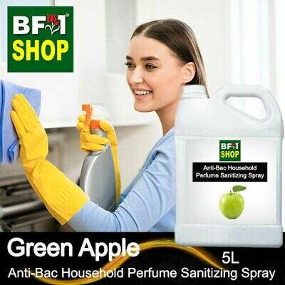 Anti-Bac Household Perfume Sanitizing Spray (ABHP) - Apple - Green Apple - 5L