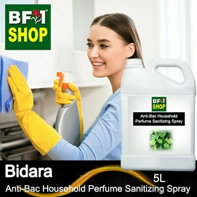 Anti-Bac Household Perfume Sanitizing Spray (ABHP) - Bidara - 5L