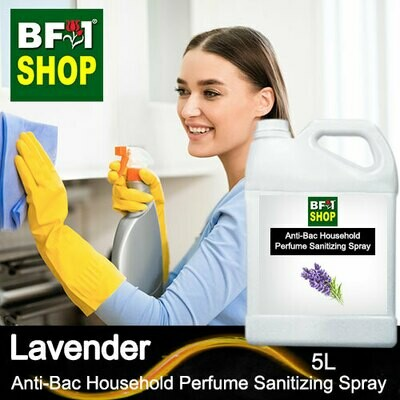 Anti-Bac Household Perfume Sanitizing Spray (ABHP) - Lavender - 5L