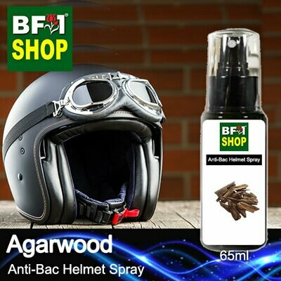 Anti-Bac Helmet Spray (ABHS1) - Agarwood - 65ml
