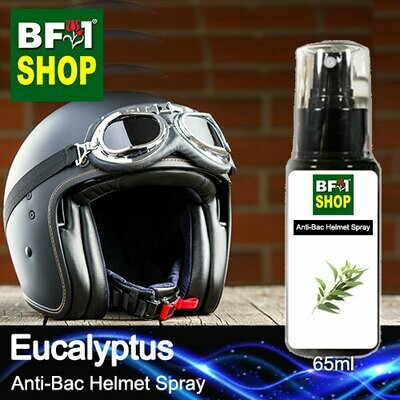 Anti-Bac Helmet Spray (ABHS1) - Eucalyptus - 65ml