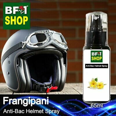 Anti-Bac Helmet Spray (ABHS1) - Frangipani - 65ml