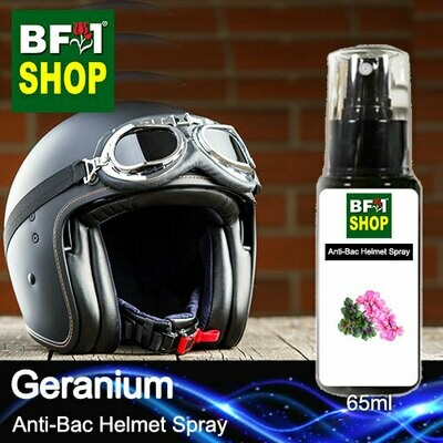 Anti-Bac Helmet Spray (ABHS1) - Geranium - 65ml