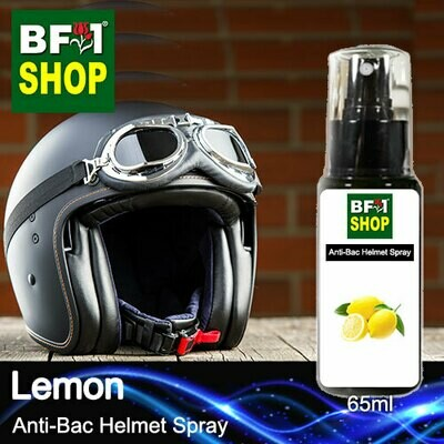 Anti-Bac Helmet Spray (ABHS1) - Lemon - 65ml