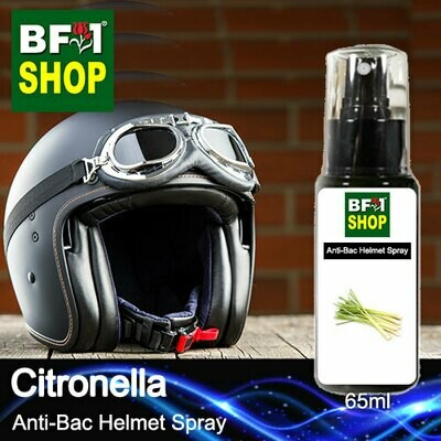Anti-Bac Helmet Spray (ABHS1) - Citronella - 65ml