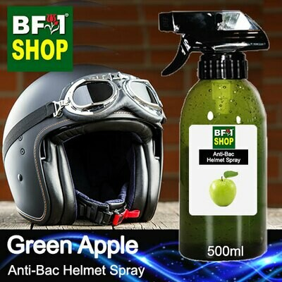 Anti-Bac Helmet Spray (ABHS1) - Apple - Green Apple - 500ml