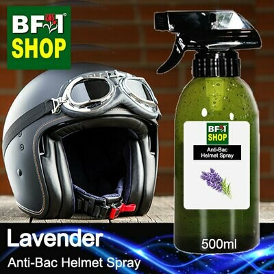 Anti-Bac Helmet Spray (ABHS1) - Lavender - 500ml