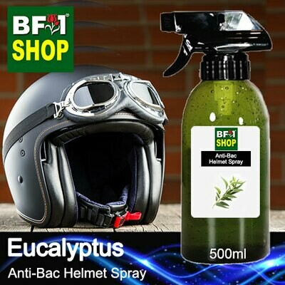 Anti-Bac Helmet Spray (ABHS1) - Eucalyptus - 500ml