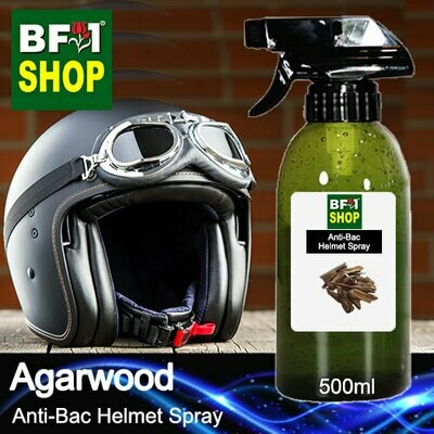 Anti-Bac Helmet Spray (ABHS1) - Agarwood - 500ml