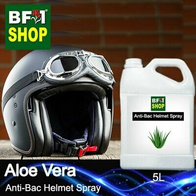 Anti-Bac Helmet Spray (ABHS1) - Aloe Vera - 5L
