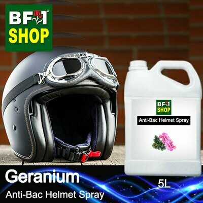 Anti-Bac Helmet Spray (ABHS1) - Geranium - 5L