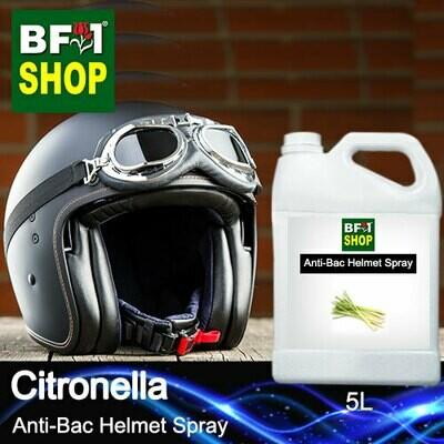 Anti-Bac Helmet Spray (ABHS1) - Citronella - 5L