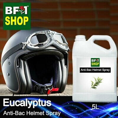 Anti-Bac Helmet Spray (ABHS1) - Eucalyptus - 5L