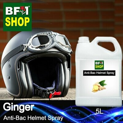 Anti-Bac Helmet Spray (ABHS1) - Ginger - 5L