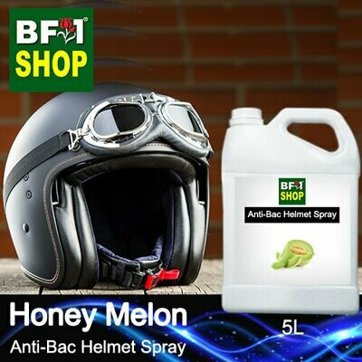 Anti-Bac Helmet Spray (ABHS1) - Honey Melon - 5L