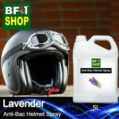 Anti-Bac Helmet Spray (ABHS1) - Lavender - 5L