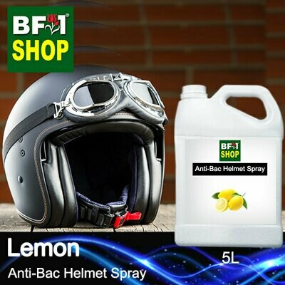 Anti-Bac Helmet Spray (ABHS1) - Lemon - 5L