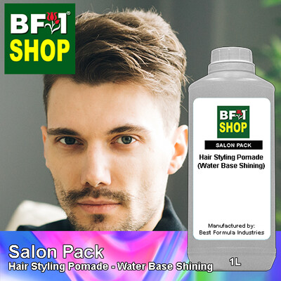 Salon Pack - Hair Styling Pomade - Water Base Shining - 1L