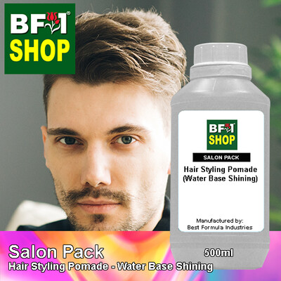 Salon Pack - Hair Styling Pomade - Water Base Shining - 500ml