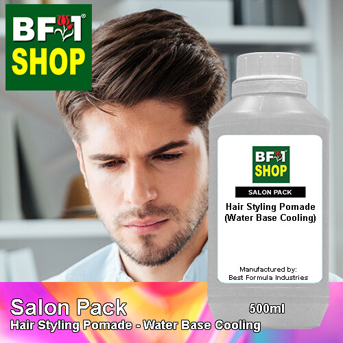 Salon Pack - Hair Styling Pomade - Water Base Cooling - 500ml