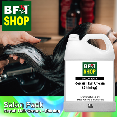Salon Pack - Repair Hair Cream - Shining - 5L