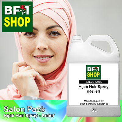 Salon Pack - Hijab Hair Spray - Relief - 5L