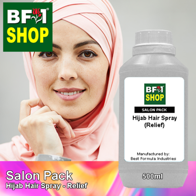 Salon Pack - Hijab Hair Spray - Relief - 500ml