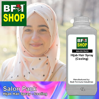 Salon Pack - Hijab Hair Spray - Cooling - 1L