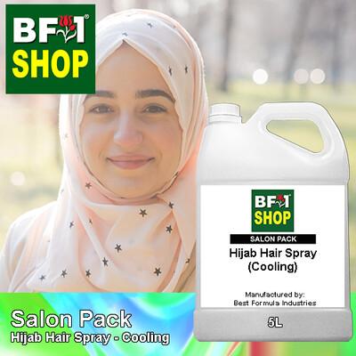 Salon Pack - Hijab Hair Spray - Cooling - 5L