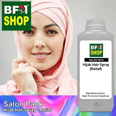 Salon Pack - Hijab Hair Spray - Relief - 1L