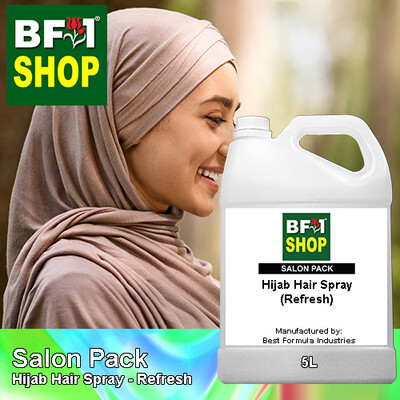 Salon Pack - Hijab Hair Spray - Refresh - 5L
