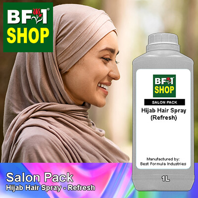 Salon Pack - Hijab Hair Spray - Refresh - 1L