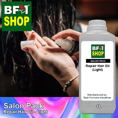 Salon Pack - Repair Hair Oil - Light - 1L