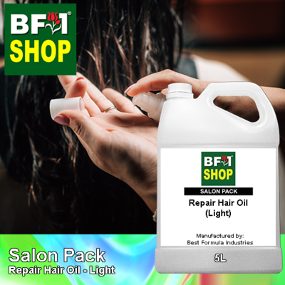 Salon Pack - Repair Hair Oil - Light - 5L