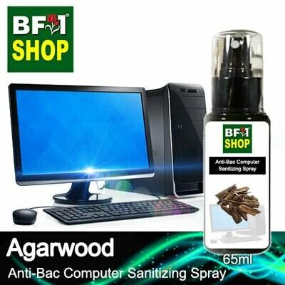 Anti-Bac Computer Sanitizing Spray (ABCS) - Agarwood - 65ml