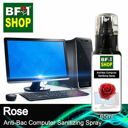 Anti-Bac Computer Sanitizing Spray (ABCS) - Rose - 65ml