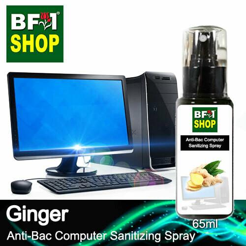 Anti-Bac Computer Sanitizing Spray (ABCS) - Ginger - 65ml