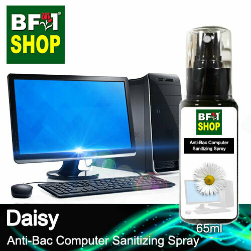 Anti-Bac Computer Sanitizing Spray (ABCS) - Daisy - 65ml