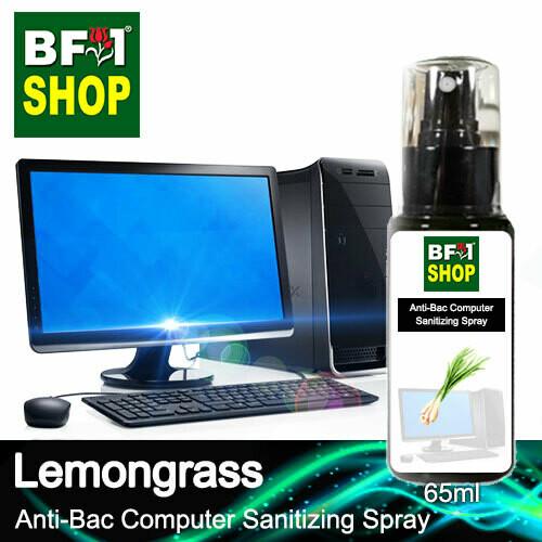 Anti-Bac Computer Sanitizing Spray (ABCS) - Lemongrass - 65ml